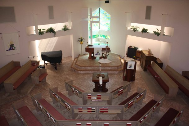 interior from above